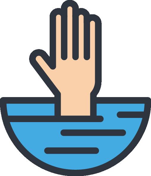 usapoolsny- hand-above