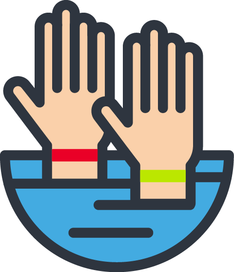 usapoolsny -hand-above-water-bands